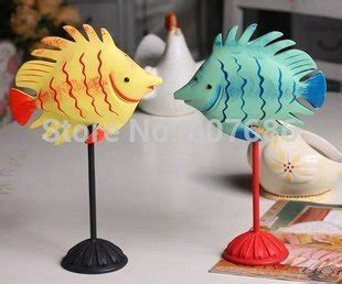 sets pieces hand carved painted wooden fish bali