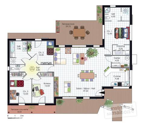 comment faire une cuisine dans minecraft maison à l 39 architecture bioclimatique dé du plan de