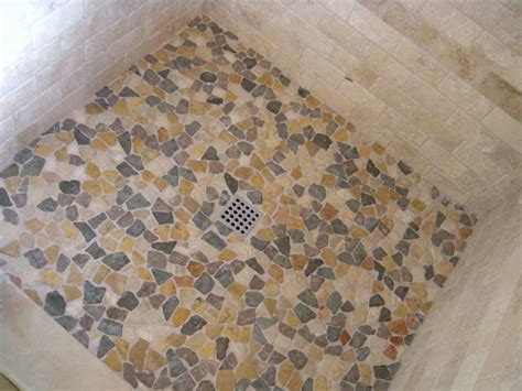 tile  shower floor   impress    attractive motifs homesfeed