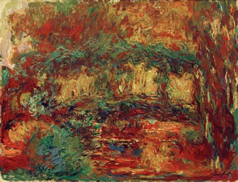 Japanischer Garten Claude Monet by Kunstdruck Die Japanische Br 252 Cke Monet Claude