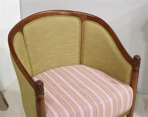 fauteuil cabriolet louis philippe fauteuil cabriolet en h 234 tre massif de style louis philippe meuble en merisier massif