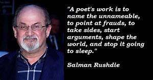 Salman Rushdie's quotes, famous and not much - Sualci Quotes