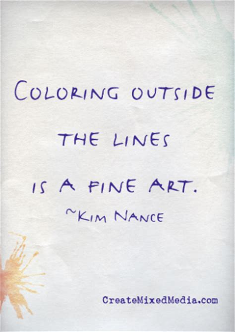 Coloring Outside The Lines by Color Outside The Lines Quotes Quotesgram
