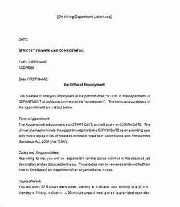 70+ Offer Letter Templates  PDF, DOC Free & Premium Templates