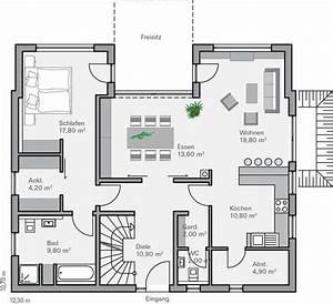 Haus Grundriss Ideen Einfamilienhaus : 81 besten haus random bilder auf pinterest hausbau ~ Lizthompson.info Haus und Dekorationen