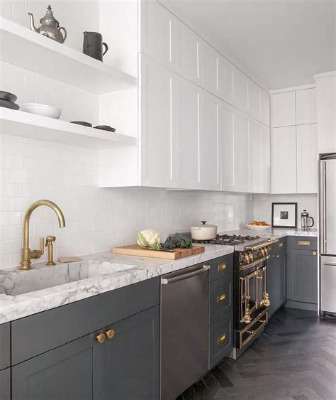white kitchen cabinets with lower cabinets white cabinets and gray lower cabinets kitchens in