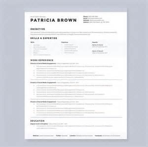 free clean resume templates word clean resume template pkg resume templates on creative