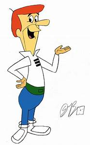 George Jetson -colored- by CartoonLover159 on DeviantArt