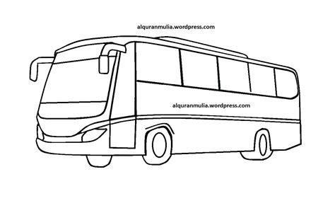 Untuk Gambar Mewarnai Bus