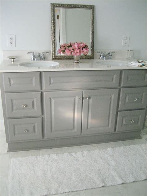 gray bathroom vanities on pinterest