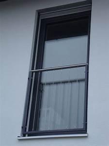 Balkongeländer Glas Anthrazit : franz sischer balkon mit edelstahlhandlauf rahmen anthrazit pulverbeschichtet f llung mit ~ Michelbontemps.com Haus und Dekorationen