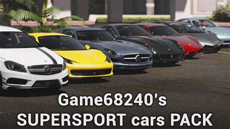 Supersport Hq Cars Pack By Scrat
