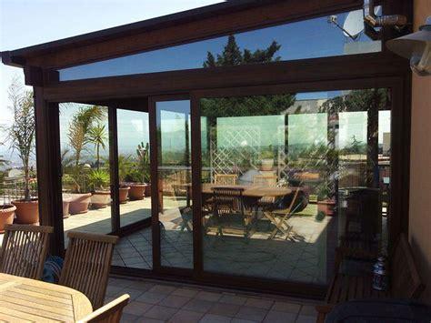 foto verande in legno simple veranda in alluminio a taglio termico colore legno