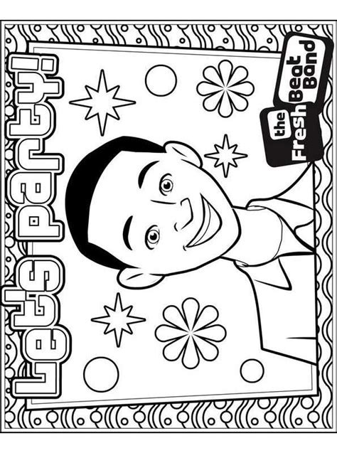 Fresh Beat Band Of Spies Kleurplaat by N Co Uk New Coloring Pages