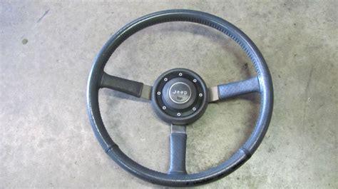jeep xj steering wheel find jeep cherokee steering wheel oem leather 3 spoke