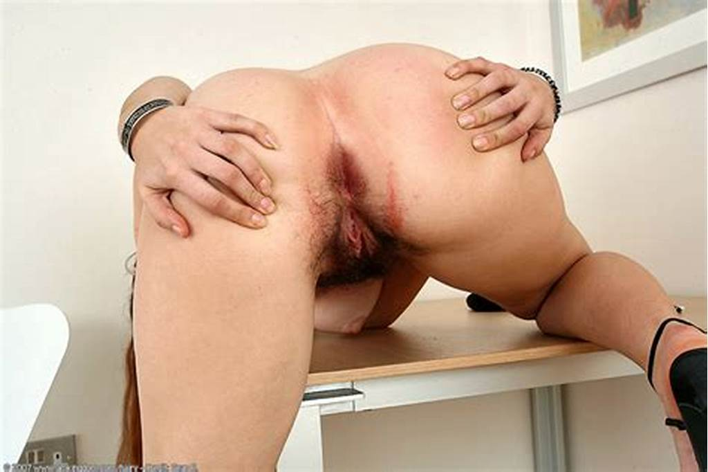#Longhaired #Redhead #Beauty #Spreading #Hairy #Pussy #On #The #Table