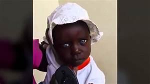 Les Yeux Les Plus Rare : rare une petite fille noire avec les yeux bleus youtube ~ Nature-et-papiers.com Idées de Décoration