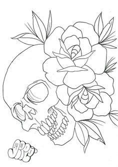 Japanese Lotus Flower Tattoo Design PDF A4 Printout Colouring Page Sheet - Hand Drawn Pen Colour