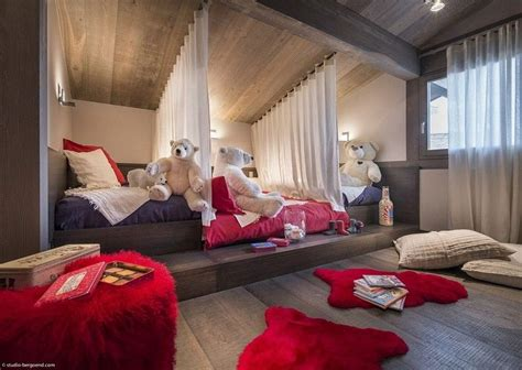 chambre chalet luxe dortoir des filles auto design tech