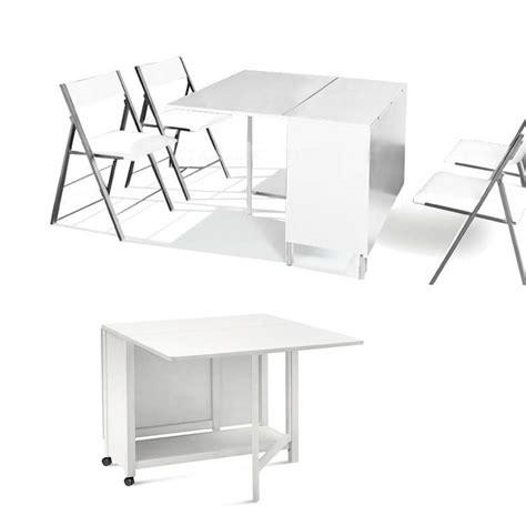 chaise basse table pliante avec chaises integrees 28 images table