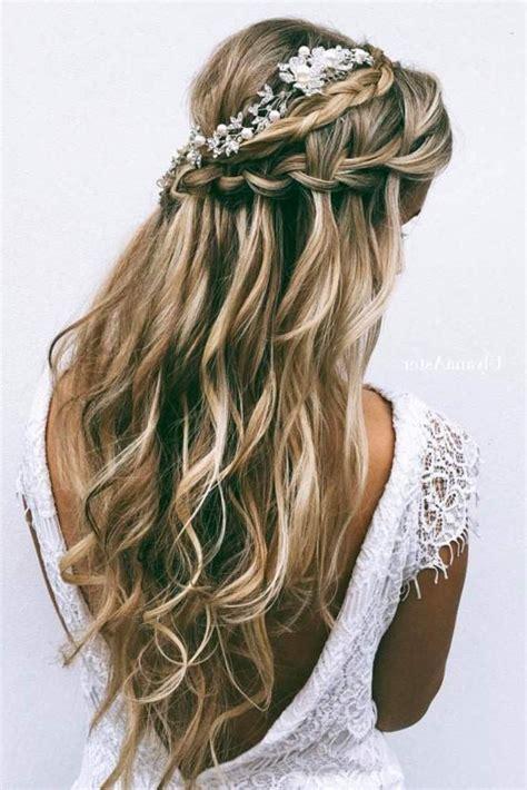 inspirations  long hairstyles bridesmaid