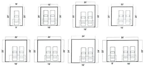 dimensions of a 2 car garage best 2 car garage door size throughout dimensions o 15100