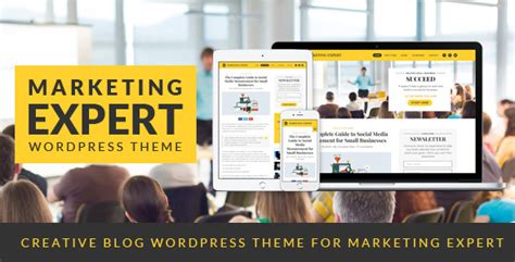 Marketing Expert by Expert Theme For Marketer By Wopethemes