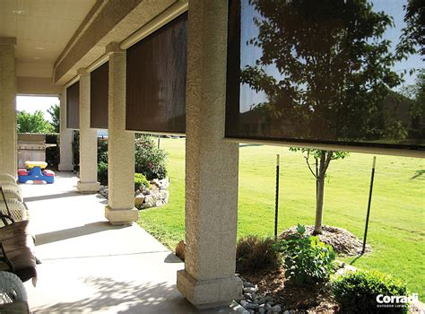 outdoor blinds urban shade