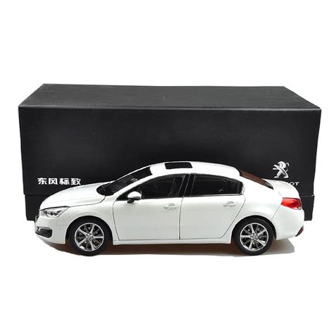 Peugeot Cars Models by Peugeot 508 2015 1 18 Scale White Diecast Model Car