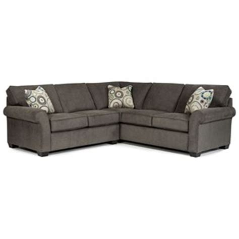 broyhill ethan sectional broyhill furniture ethan transitional sectional sofa with
