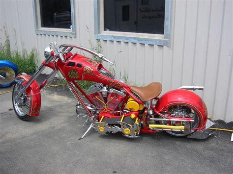 American Chopper Fireman Bike