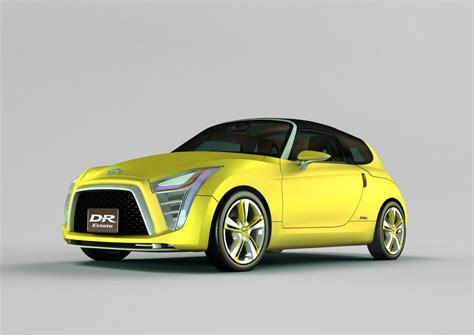 Daihatsu Concept Cars by Daihatsu Unveils Eight Compact Concept Cars Car Design