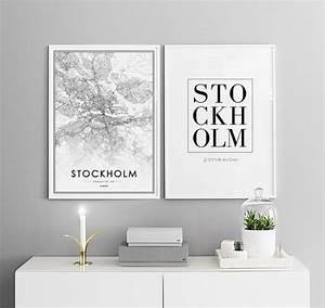 Bilder über Bett : stilvolle poster ber dem bett oder sofa plakate in paaren pictures pinterest bilder ~ Watch28wear.com Haus und Dekorationen