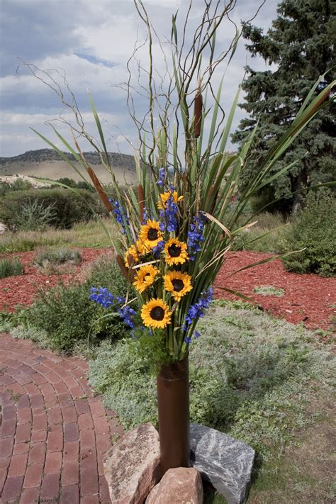 country western wedding flowers  country western