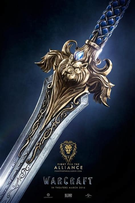 Warcraft Movie Posters Tease the Alliance and the Horde ...