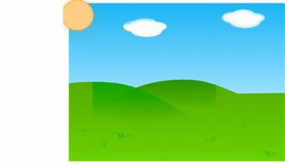 Meadow Plain Background Clipart Farm Cartoon Land