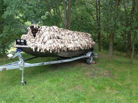 Duck Boat Shaggy Blind by Shaggy Boat Blind Michigan Sportsman Michigan