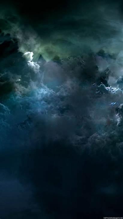 Dark Cloud Iphone Clouds Sky Storm Wallpapers