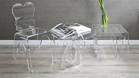 Tavoli Trasparenti by Dalani Sedie In Plastica Trasparente Note Design
