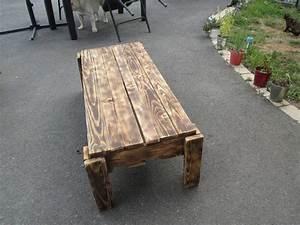 Petite Table En Bois : petite table basse toujours en palette de bois un montage simple mais efficace lol relookmeuble ~ Teatrodelosmanantiales.com Idées de Décoration