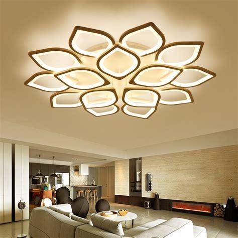 decorative lights for home acrylic flush led ceiling lights white light frame home