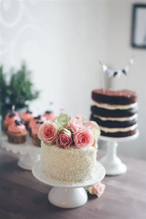 top  single tier flower wedding cakes cheap unique
