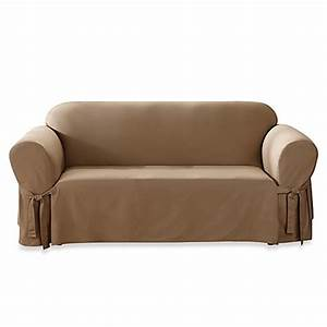 Slipcover for sofa bed bath and beyond teachfamiliesorg for Furniture slipcovers bed bath and beyond