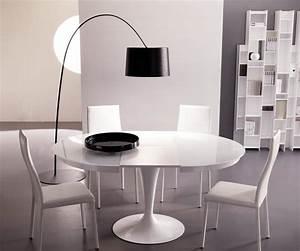 Tisch Rund Glas : ozzio design runder ausziehbarer tisch eclipse t310 ~ Frokenaadalensverden.com Haus und Dekorationen