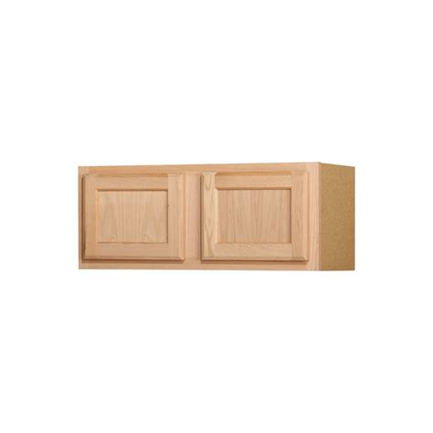 lowes unfinished kitchen cabinets shop kitchen classics 12 in x 30 in x 12 in oak unfinished