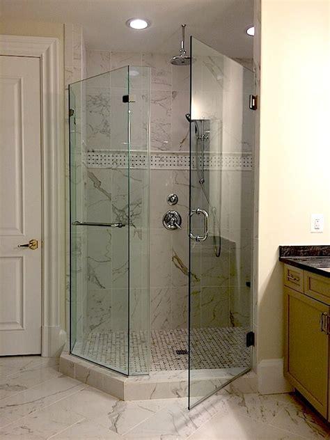 Frameless Neo Angle Shower Doors by Frameless Neo Angle Shower Enclosures