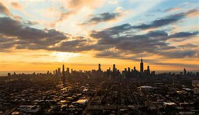 Chicago Gifs Sunrise Giphy Experiment Nick Weather