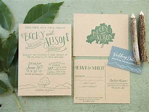 becky alison39s hand lettered rustic wedding invitations With hand lettered wedding invitations