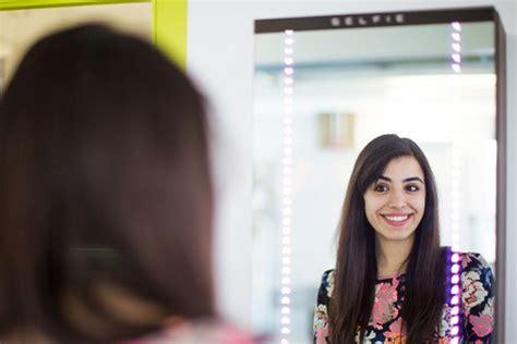 smile   selfie  mirror  verge