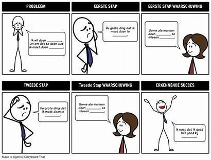 Storyboard Process Examples Largo Voorbeeld Proces Ejemplo